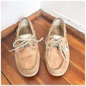 Sperry Lace Up Slip On Koifish Leather Boat Shoe